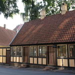 Fairy-tale author Hans Christian Andersen's childhood home in Odense, Denmark